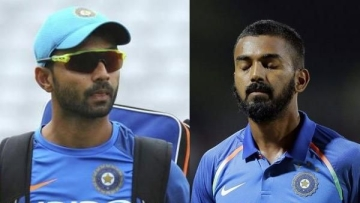 As part of this heavy rotation, opener KL Rahul and middle-order batsmen Ajinkya Rahane might be recalled for the series against Australia.