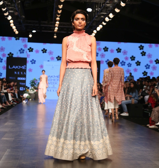 Varun Bahl presented his new pret collection.