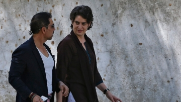 Priyanka Gandhi started her four-day visit to Lucknow from Monday along with brother Rahul Gandhi.