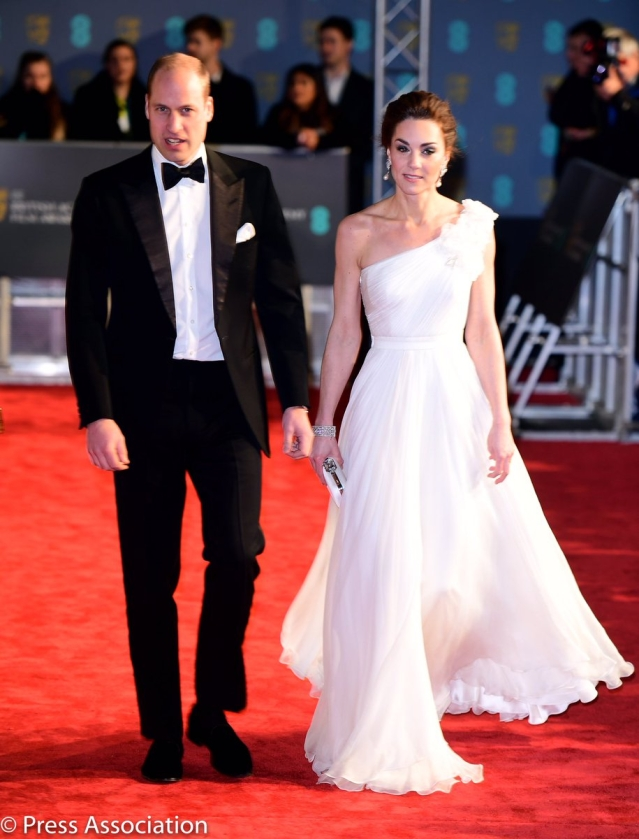 And of course, the Duke and Duchess of Cambridge!