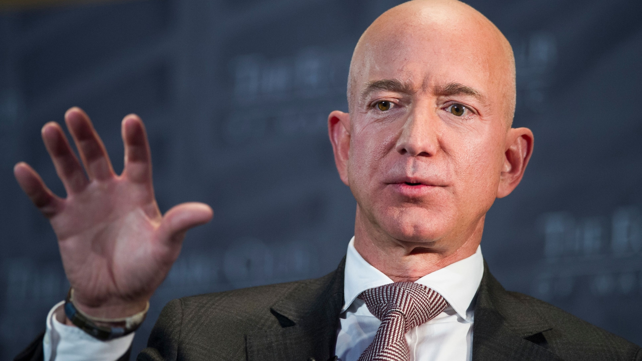 Indian-American Animal Rights Activist Interrupts Bezos On-Stage