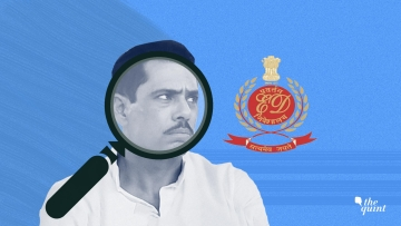 Image of Robert Vadra and the ED logo used for representational purposes.