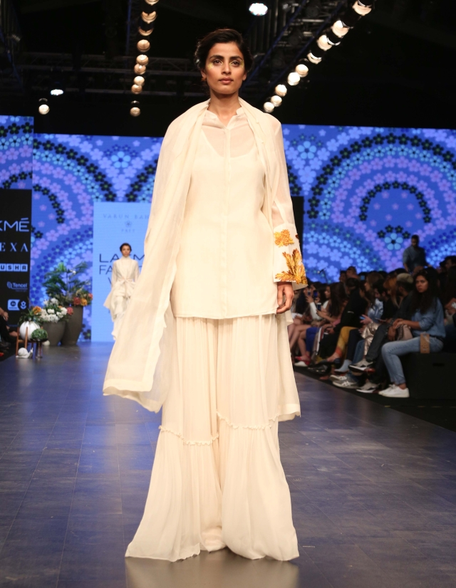 An outfit from Varun Bahl's new Pret collection.