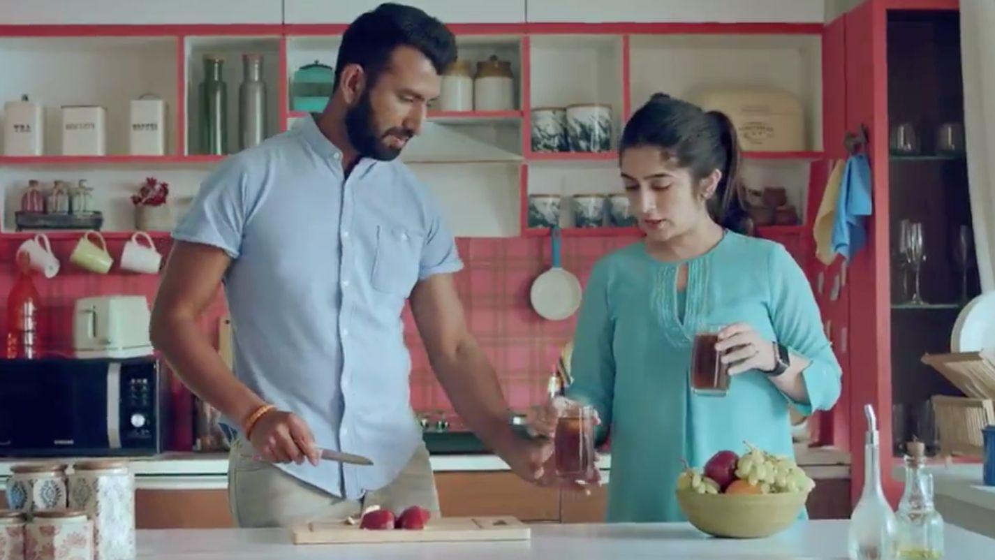 Perfect Match: Cheteshwar Pujara Is in an Ad for Life Insurance
