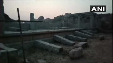 Over a week after a video of men vandalising a heritage site in Hampi went viral, the police have arrested four men in connection with the case.