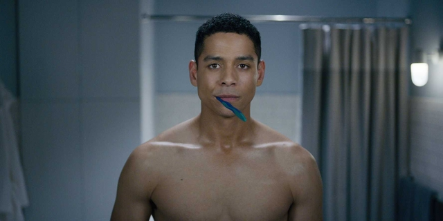 Charlie Barnett in a still from <i>Russian Doll</i>.