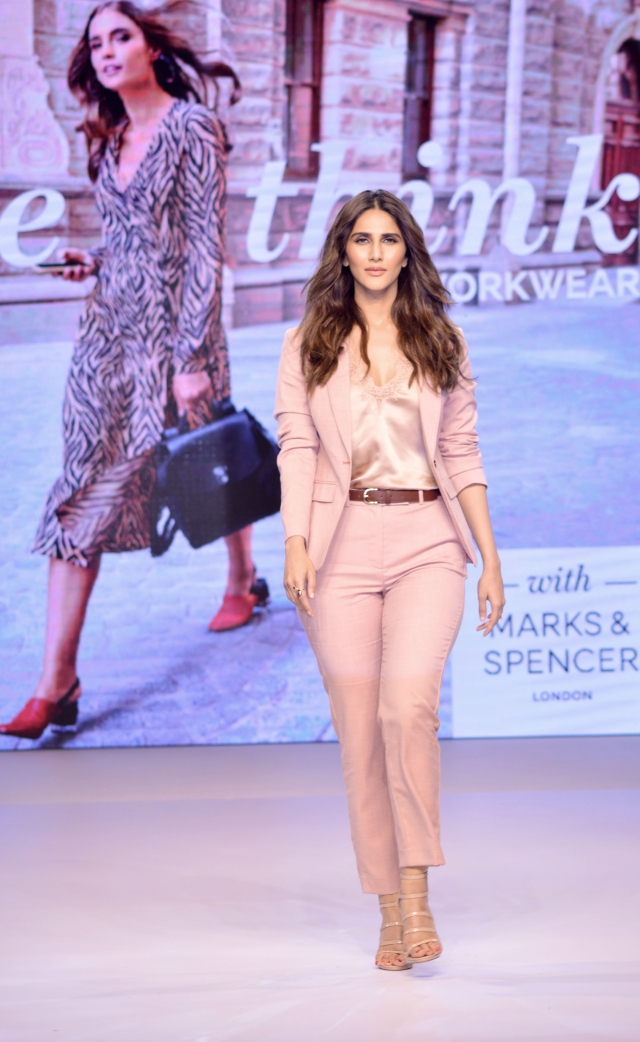 Vaani Kapoor owns the catwalk like a queen.