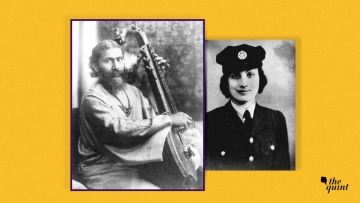 Inayat Khan (L), daughter Noor Inayat Khan (R).