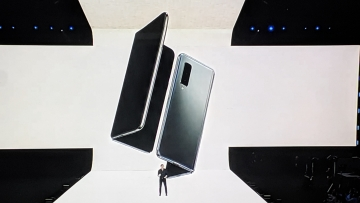 Galaxy Fold carries two batteries, supported by a single power source.