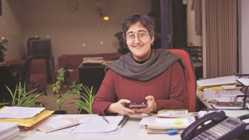 Atishi Marlena, AAP's East Delhi parliamentary seat in-charge on Wednesday, 6 February, launched a crowdfunding drive.