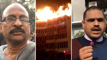 Eyewitnesses speak to The Quint on the Karol Bagh Hotel fire.