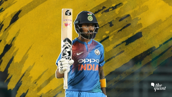 When KL Rahul reached his half-century in the first T20I against Australia at Visakhapatnam, it helped in easing up his nerves a lot.