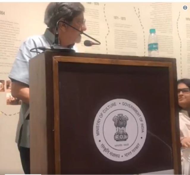 "Amol Palekar was interrupted while speaking at an event recently and asked to ""stick to the topic""."