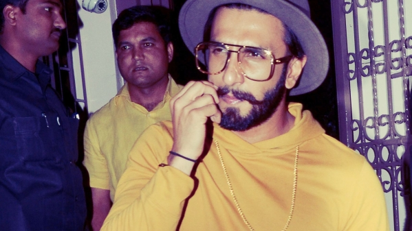 Ranveer Singh at <i>Gully Boy</i> promotions.