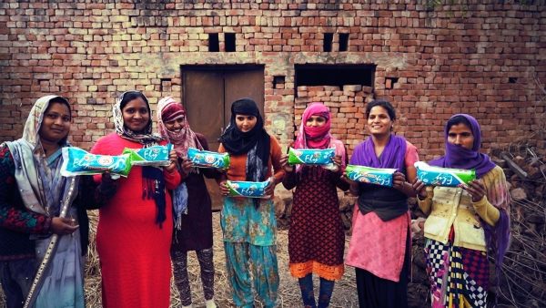 These women – who starred in 'Period. End of Sentence.' – are challenging the taboo over menstruation.