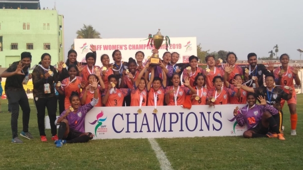 India continued its dominance at the SAFF Women's Championship by lifting its fifth straight title with a 3-1 victory over hosts Nepal