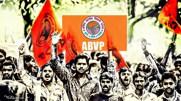 ABVP members forced a professor to apologise for an alleged 'anti-national' Facebook post.