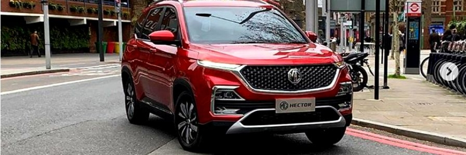 Mg Hector Spied Undisguised During Ad Shoot In London