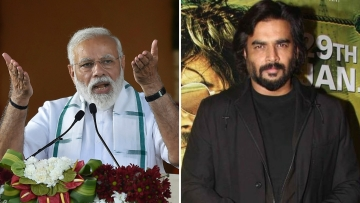 R Madhavan criticises video posted by Congress on their official Twitter handle.