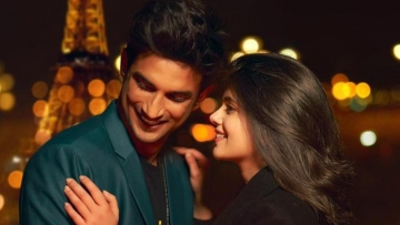 Sushant Singh Rajput and Sanjana Sanghi star in <i>Dil Bechara</i>.