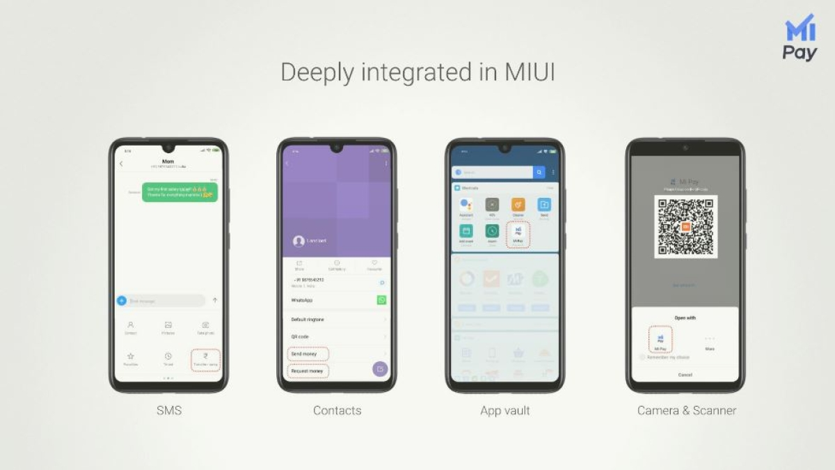 Xiaomi has launched its own UPI-based payments platform.