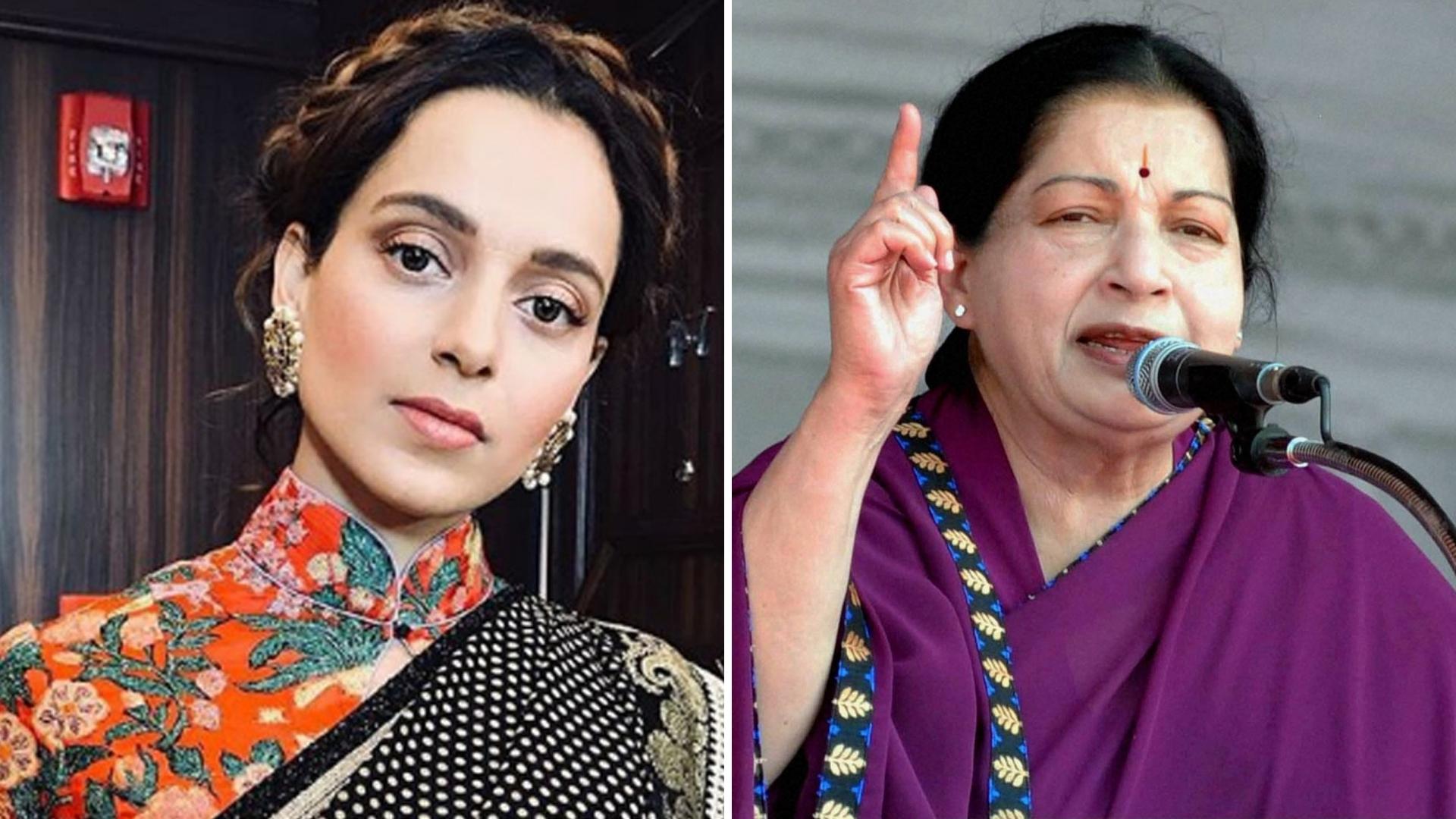 Kangana to Play Jayalalitha in the Tamil Nadu CM's Biopic?