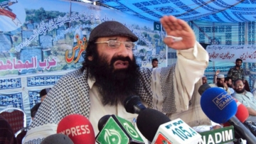 File image of Syed Salahuddin from 13 July 2011.
