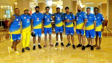 The domestic players in the CSK took part in a preparatory camp which began with a fitness session on Wednesday.