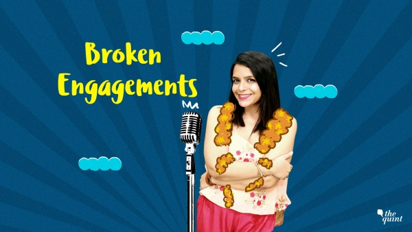 Sigh, broken engagements can be an LIIT of emotions