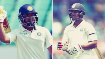 Prithvi Shaw (left) and Mayank Agarwal were among the notable absentees from the BCCI's list of 25 centrally-contracted Indian cricketers for 2018/19.