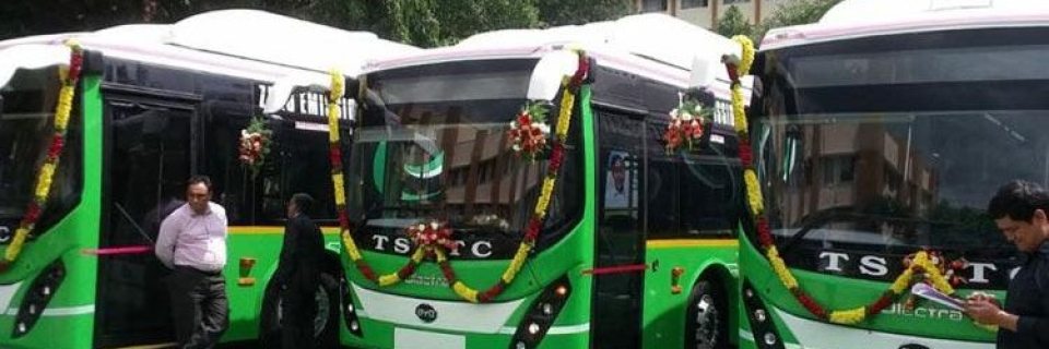 Top Stories from Hyderabad: 40 Electric Buses Launched