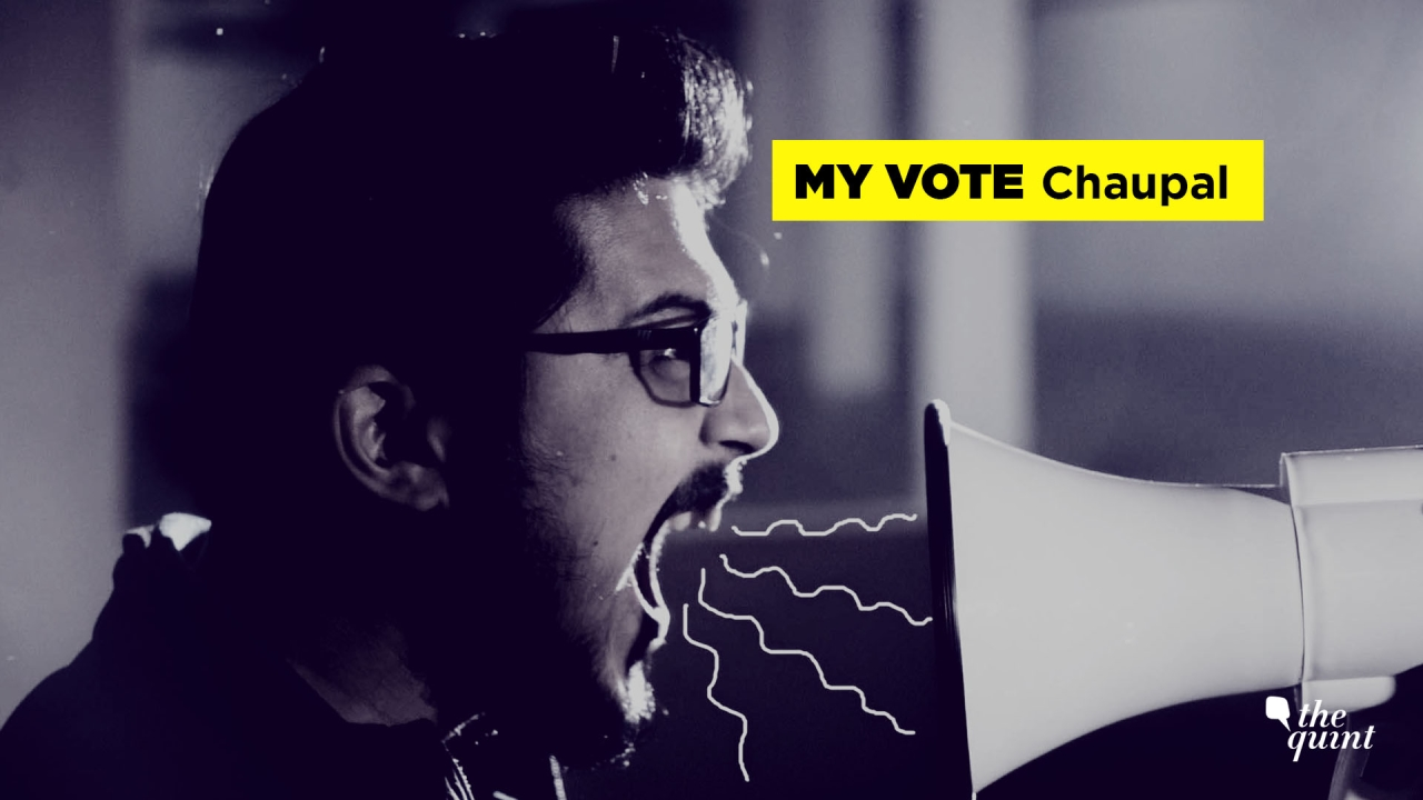 Through 'My Vote Chaupal', the voters can speak about the issues that matter to them.
