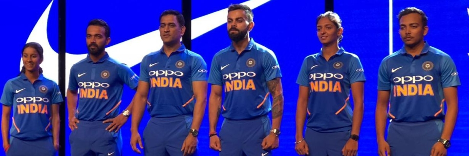 91125725f India ICC World Cup 2019 Jersey Photos  Here s What Team India Will ...