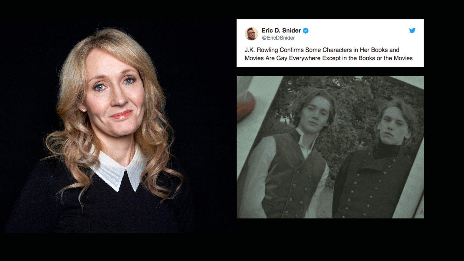 After Her Big Reveal, Twitter Slams Rowling for Lack of Diversity