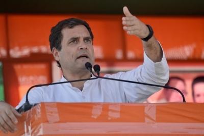 Chaos at Rahul Gandhi rally in Bengal, no one hurt