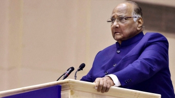File image of NCP chief Sharad Pawar.