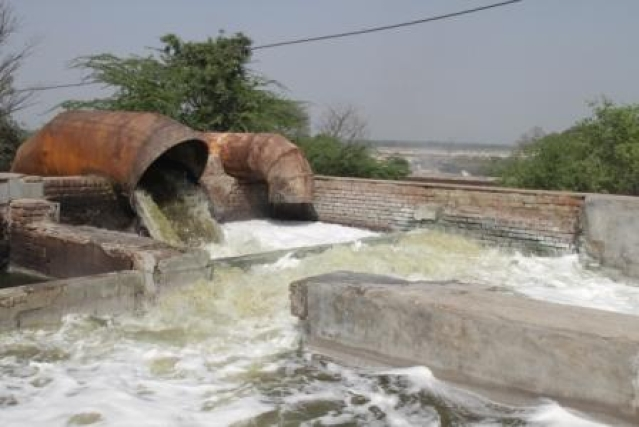 File Photo: CETP discharging treated sewage