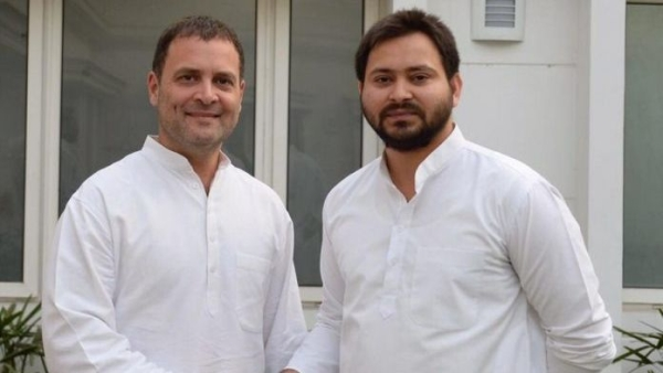 'Please Make Rahul ji PM': Tejashwi at First Rally With Cong Prez