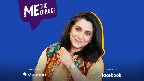 Supriya Pilgaonkar speaks on The Quint's 'Me, The Change' campaign and urges everyone to go vote!