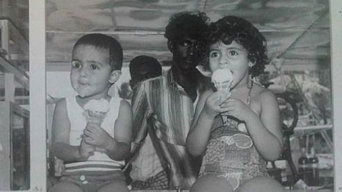 Abhishek Shares Adorkable Childhood Pic on Sis Shweta's Birthday