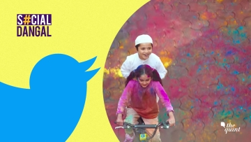The Surf Excel ad showed a couple of kids playing Holi.