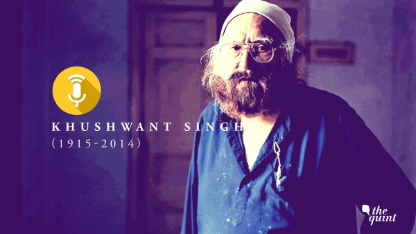I Fear Being Dependent: The Unpublished Khushwant Singh Interview