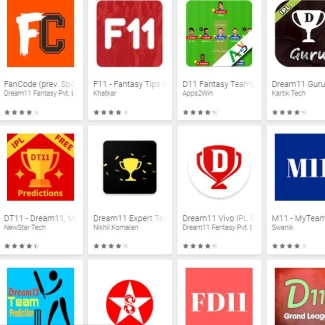 There are multiple sports fantasy games on the Google Play Store.