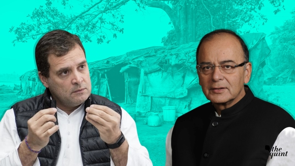 Image of Rahul Gandhi and Arun Jaitley used for representational purposes.
