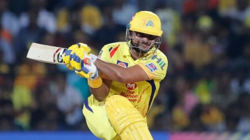 Chennai Super Kings' Suresh Raina became the first-ever cricketer to score 5,000 runs in the Indian Premier League.
