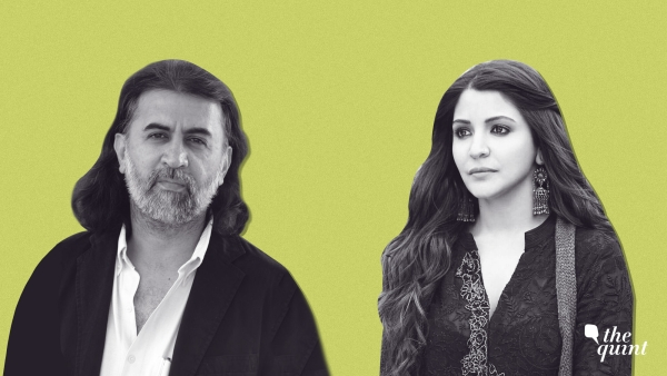 Tarun Tejpal and Anushka Sharma.