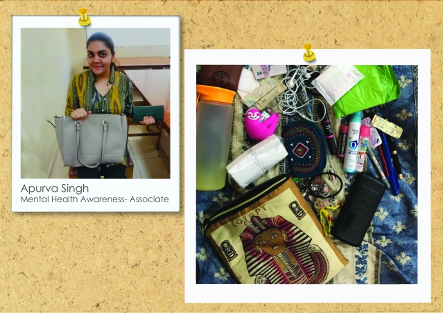 What's In Apurva's Handbag- A Lot!