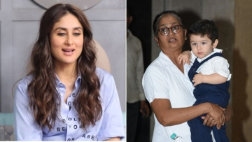 Kareena's son Taimur is most often spotted accompanied by his nanny.