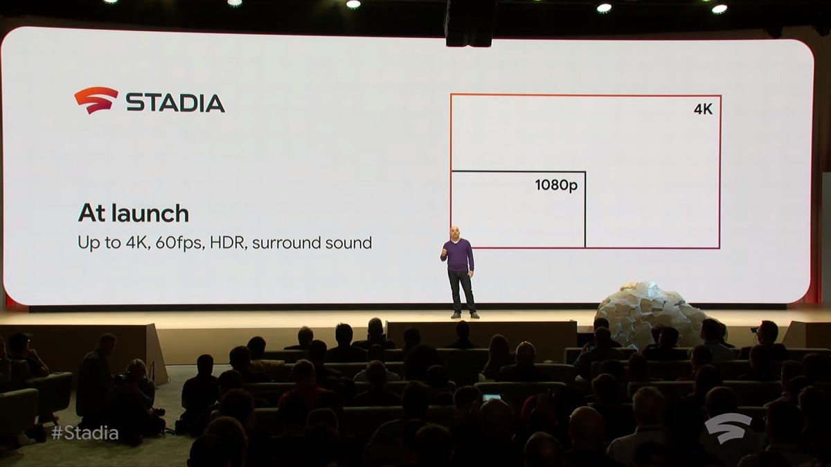 Google, with Stadia, plans to create a 'Netflix-like' platform designed as a way for 'people to play and watch games together'.