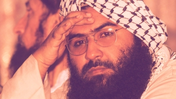 Masood Azhar, Chief of the Jaish-e-Mohammed.